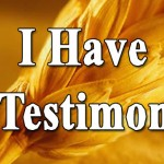 My testimony: - How Jesus appeared physically to me