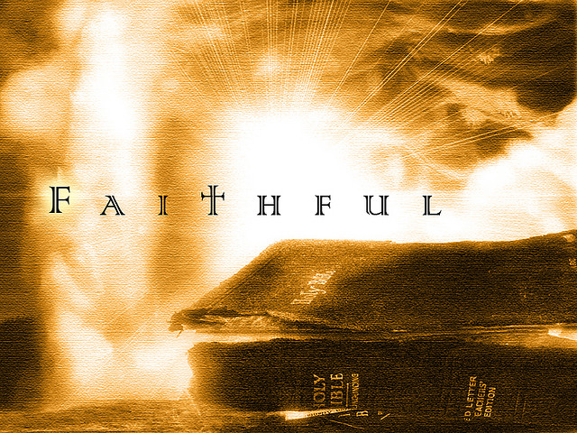 Great faith (faithful)