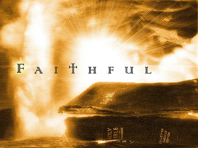 Great faith (faithful)