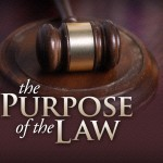 The purpose of the law