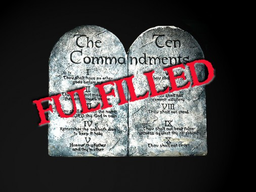 Jesus the complete law fulfilment