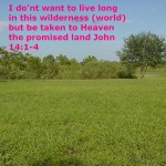 living long on earth