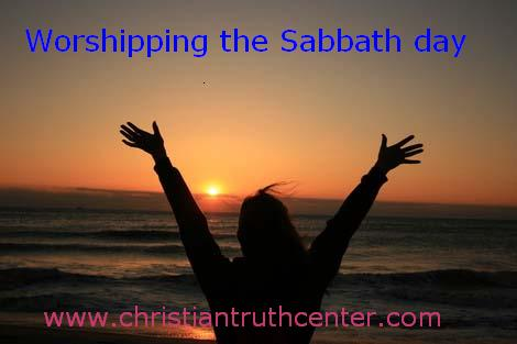 worshiping the Sabbath day