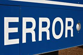Errors to keep away from
