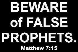 3 Things that do not Distinguish a True Prophet from a False prophet