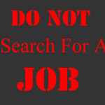Testimony of how God instructed me not to search for a job