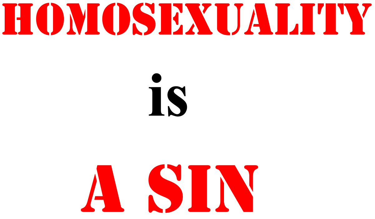 homosexuality as a sin essay - homosexuality as a sin the topic of homosexuality in religion has many sides there are those who believe that it is a sin in god's eyes and according to the bible, and there are those who believe the god and the bible are not specific to homosexuals.