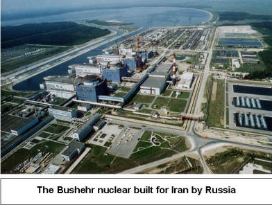 Iran Nuclear power plant built by Russia