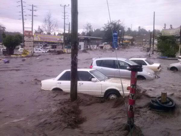 flood waters in kenya