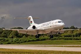 Vision: - A Man Rises in Kenya Presidential Plane and Cries 'Repent!'