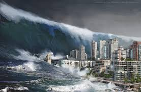 Prophecy of Quake in the Sea with Large Amount of Waters Rushing to Land