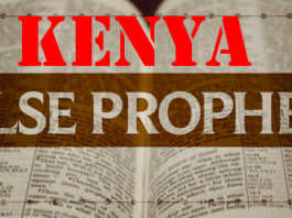 Kenya False Prophets Seeing Fables. 2013 they prophesied prosperity, 2015 they have changed tune