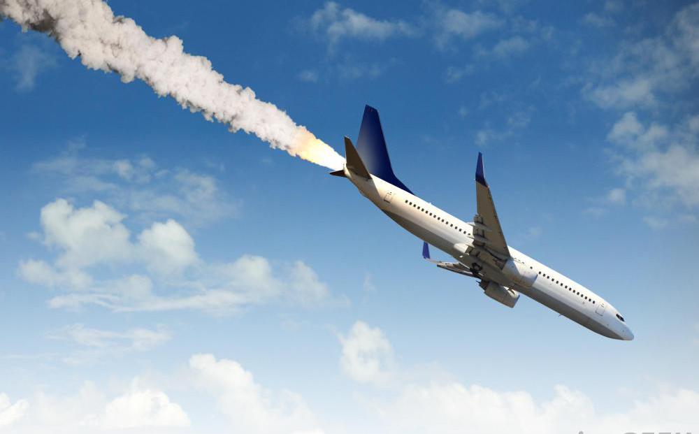 a plane crash