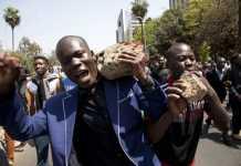 Demonstration in Kenya Prophecy