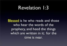 The Book of Revelation – Blessing For Reading and Hearing It