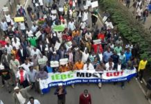 Demonstration in Kenya Prophecy Fulfillment