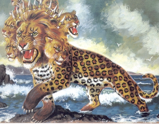http://netchurch.tv Rev 13 – Beast Rising up out of the Sea & Beast Coming up out of the Earth