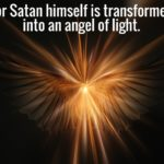 Vision of Demons Transforming Themselves to Angels of Light Speaking to People