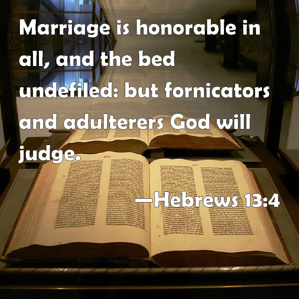ways marriage bed is defiled » christian truth center