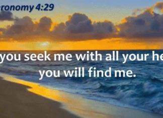 Seek the Fullness of God Not Just a Part of Him