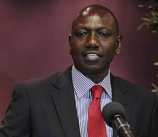 A Person is Out to Kill William Ruto – Pray