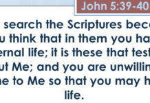 Scripture (Bible) Has No Life – It is Lifeless; It is Dead