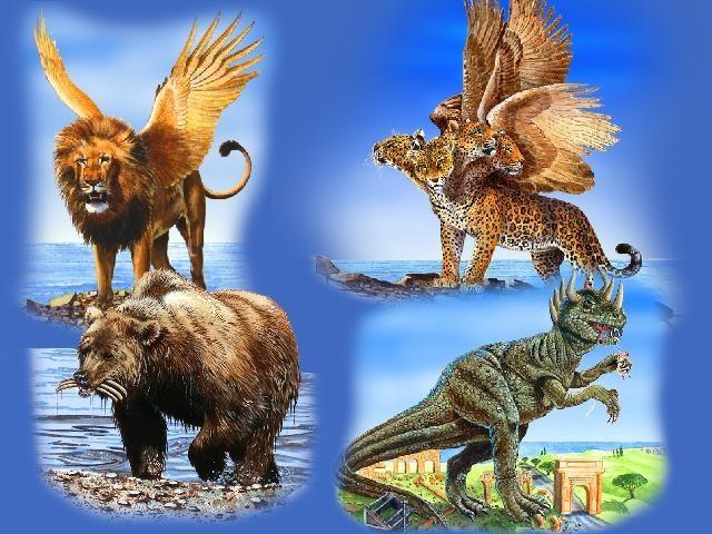 4 Beasts of Daniel and Revelation